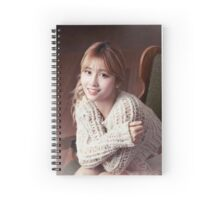 momo twice Spiral Notebook