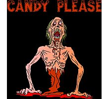 Halloween Candy Please Photographic Print