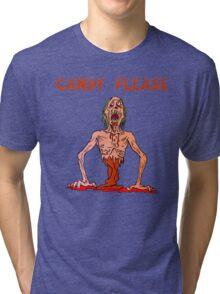Halloween Candy Please Tri-blend T-Shirt