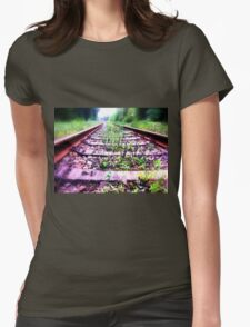 rail cologne germany Womens Fitted T-Shirt