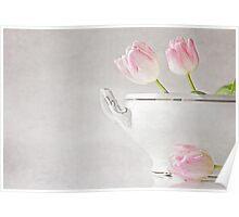 soupes de tulipes Poster