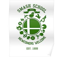 Smash School Newcomer (Green) Poster
