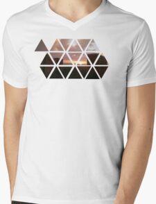 warren sunset Mens V-Neck T-Shirt
