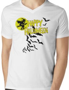 Happy Halloween Mens V-Neck T-Shirt