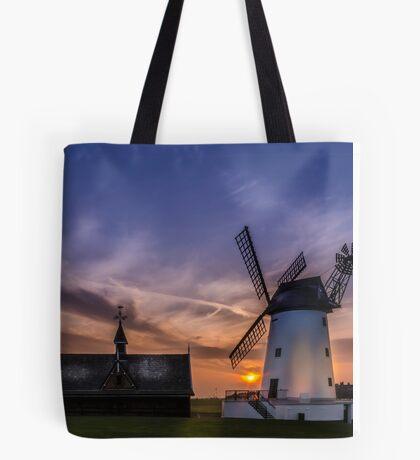 Lytham Windmill at Sunset Tote Bag