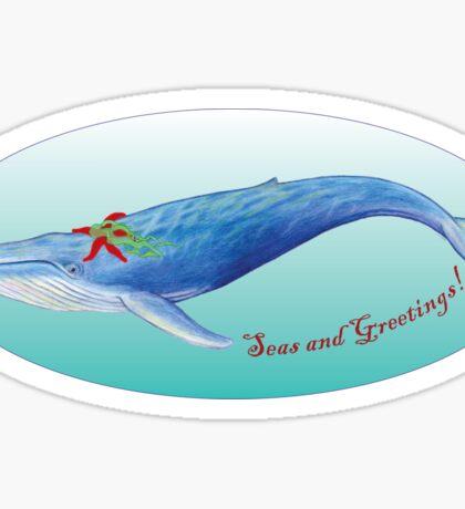 Seas and Greetings! Sticker