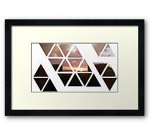warren sunset 2 Framed Print