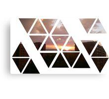 warren sunset 2 Canvas Print