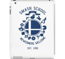Smash School Newcomer (Blue) iPad Case/Skin