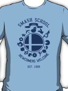Smash School Newcomer (Blue) T-Shirt