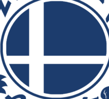Smash School Newcomer (Blue) Sticker