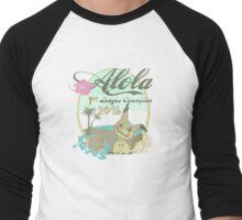 Alola League Champion - Mimikyu Men's Baseball ¾ T-Shirt