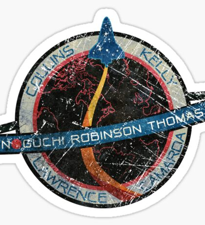 NASA Space Mission STS 114 Sticker