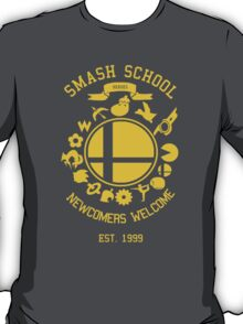 Smash School Newcomer (Yellow) T-Shirt