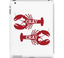 That Cray Cray Crayfish Crustacean iPad Case/Skin