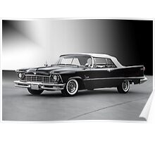 1957 Chrysler Crown Imperial Convertible Poster