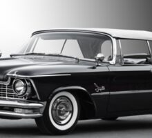 1957 Chrysler Crown Imperial Convertible Sticker