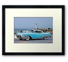 1957 Cadillac Fleetwood 60-S Sedan Framed Print