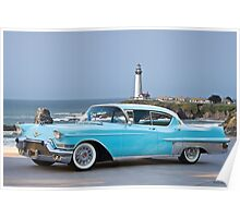 1957 Cadillac Fleetwood 60-S Sedan Poster