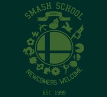 Smash School Newcomer (Green) by Nguyen013