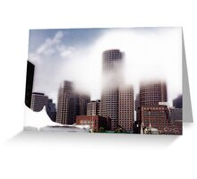 Boston Shroud Greeting Card
