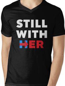 Still With Her Mens V-Neck T-Shirt