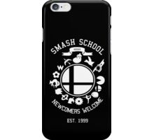 Smash School Newcomer (White) iPhone Case/Skin