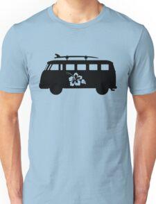 Hawaiian vw bus Unisex T-Shirt