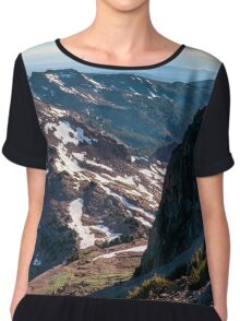 Mountains of Lassen National Park Chiffon Top