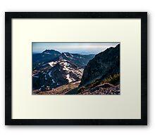 Mountains of Lassen National Park Framed Print