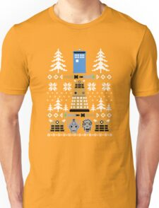 Doctor Ugly Sweater Who Unisex T-Shirt