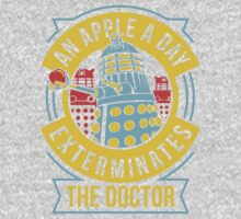 An Apple A Day Exterminates The Doctor Kids Clothes