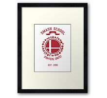 Smash School United (Red) Framed Print