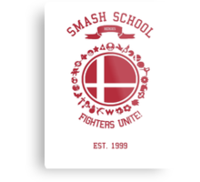 Smash School United (Red) Metal Print