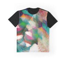 Futuristic Glitch Graphic T-Shirt