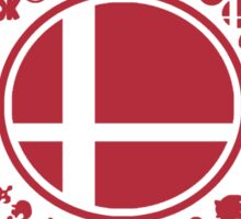 Smash School United (Red) Sticker