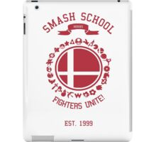 Smash School United (Red) iPad Case/Skin