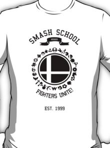 Smash School United (Black) T-Shirt