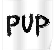 PUP band logo Poster