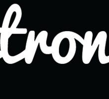 <strong> HTML Tag - Black Cursive Sticker