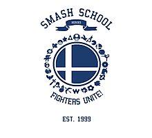 Smash School United (Blue) Photographic Print