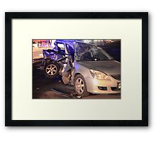 accident at Night Framed Print