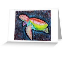 Kemp's Ridley Sea Turtle Greeting Card