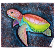 Kemp's Ridley Sea Turtle Poster