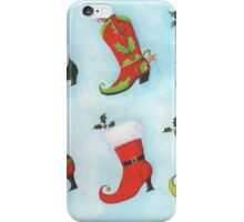 Christmas Boots iPhone Case/Skin