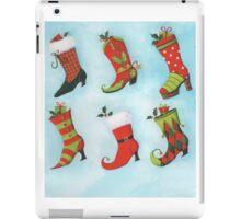 Christmas Boots iPad Case/Skin