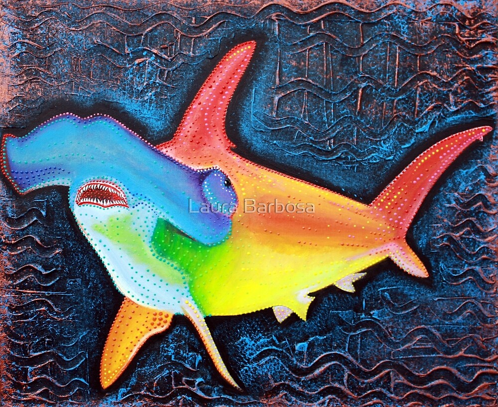 Hammerhead Shark by Laura Barbosa