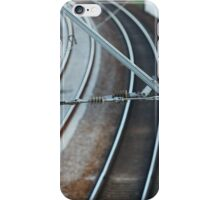 catenary of electrified railway iPhone Case/Skin