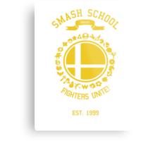 Smash School United (Yellow) Metal Print