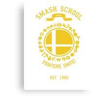 Smash School United (Yellow) Canvas Print